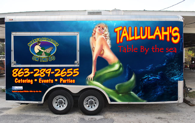 Tallulah's Table By The Sea (Mobile Seafood Bistro)